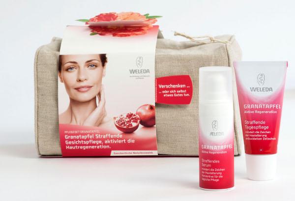 Weleda Granatapfel Geschenkset Gesichtspflege