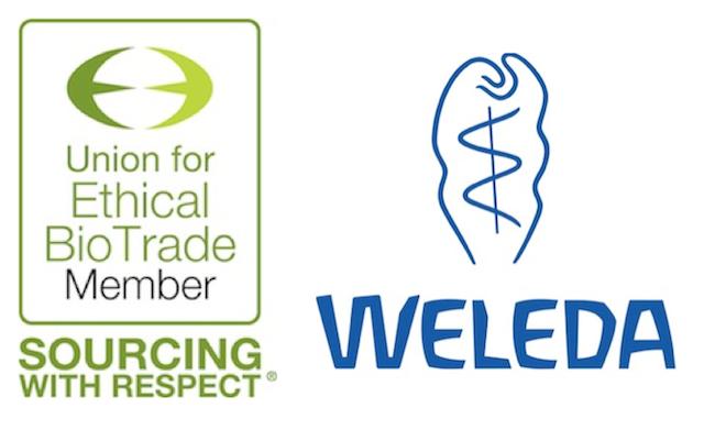 Weleda Union for Ethical Biotrade UEBT