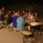 Abschlussfeier Bergwaldprojekt 32fl auf dem Forstwerkhof Schaan
