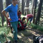 Anmarsch zur Alpila-Hütte