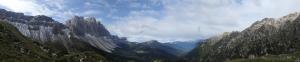 Panorama von der Wörndlealm