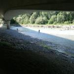 Fliegenfischer am Fluss