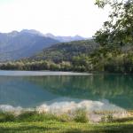 Nachbauersee an einem Rheinzufluss