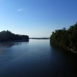 Mündung der Ach in den Bodensee