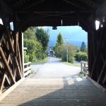 Zwanghaft fotografiere ich auch Holzbrücken.