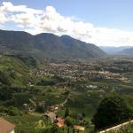 Meran aus Richtung Dorf Tirol