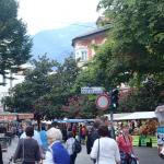 Marktplatz in Meran.