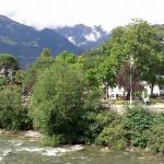Die Passer in Meran in Südtirol.