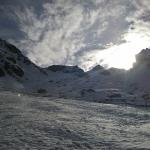 Wörndle Loch in Schnee und Sonne