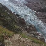 Auf dem Weg zur Schreckhornhütte