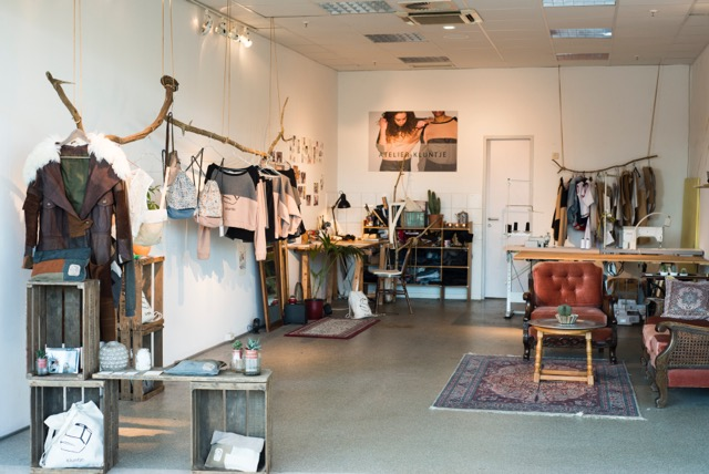 Kluntje Upcycling Atelier Hamburger Meile