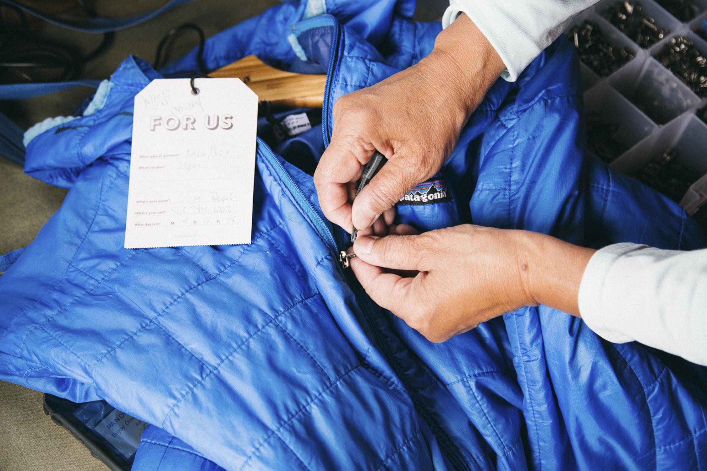 Patagonia Worn Wear Reparatur Service