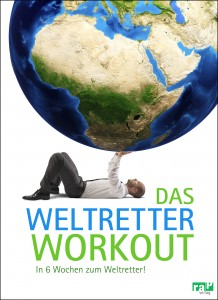 Buchcover Weltretter Workout rap Verlag