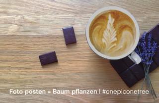 Teaser onepiconetree Original Beans Murnauer Kaffeerösterei Baum pflanzen