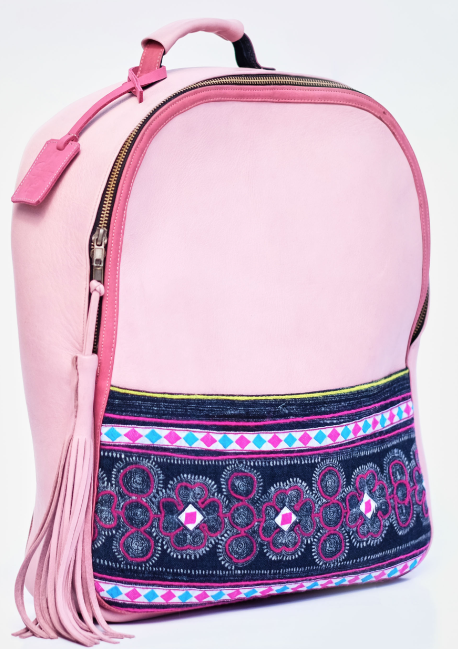Fancy Hand carry backpack with laptop compartment